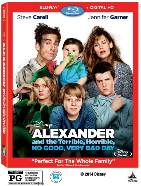 Alexander_And_The_Terrible_Horrible_No Good_Very_Bad_Day DVD