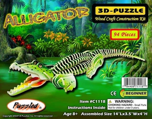 Alligator-Puzzle