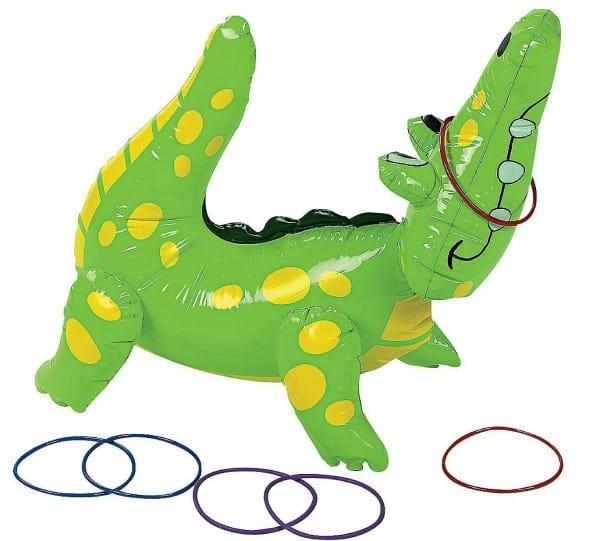 Alligator-Ring-Toss-Game