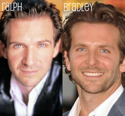 Bradley Cooper and Ralph Fiennes