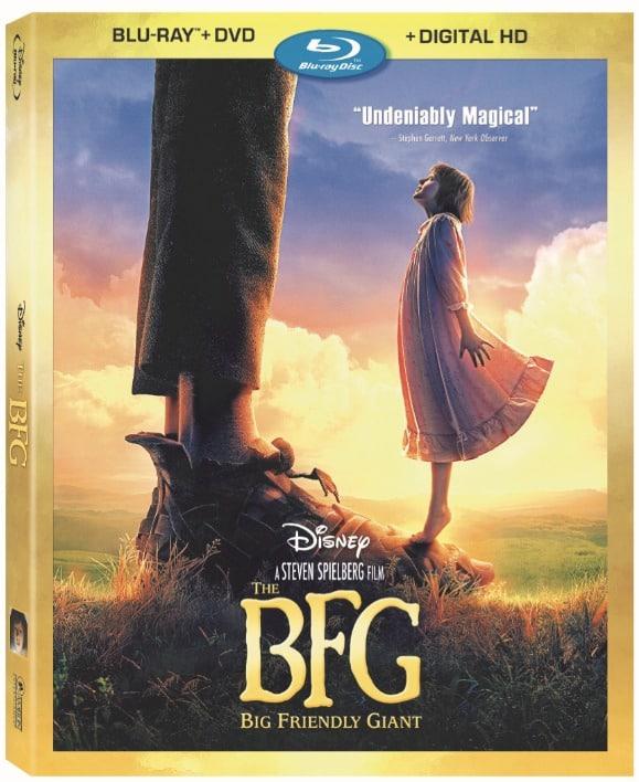 Disney The BFG Blu-Ray DVD Cover Art