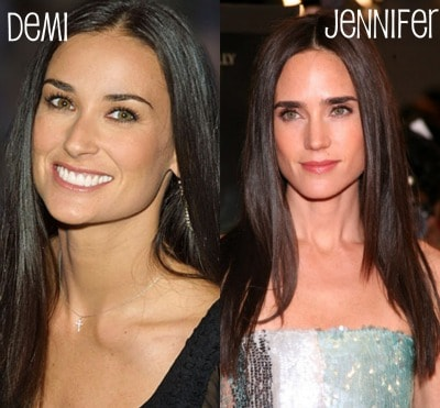 Jennifer Connelly and Demi Moore
