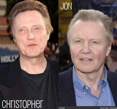 Jon Voight and Christopher Walken