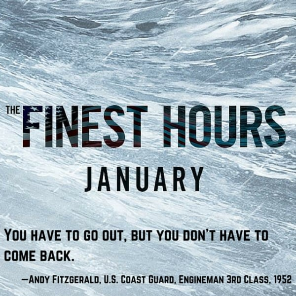 The Finest Hours Movie Coast Guard