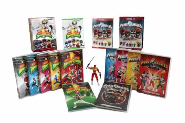 The Power Rangers Time Life